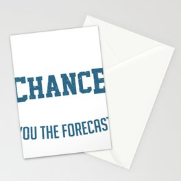 Meteorologist Weatherman Weather Forecast Gift Stationery Cards