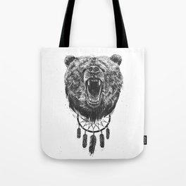 Don't wake the bear Tote Bag