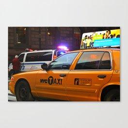 Taxi Service Canvas Print