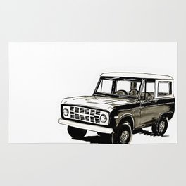 Early Bronco Rug