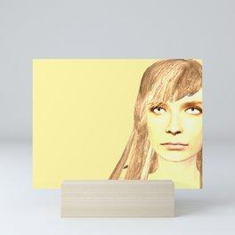 Jumper side one Mini Art Print