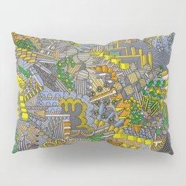 Inside my colourful head Pillow Sham