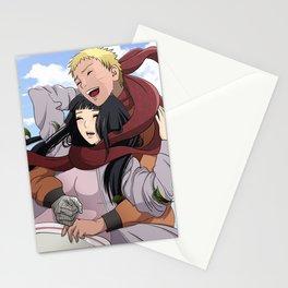 Naruhina scarf Stationery Cards