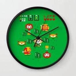 The Hero Wall Clock