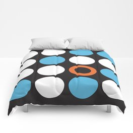 Modern Abstract Dots Comforters