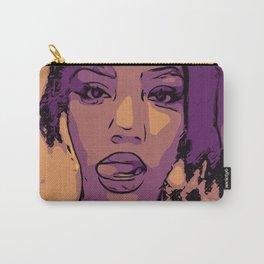 Purple Lip Licker Carry-All Pouch
