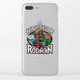 Ambassador Rodman Clear iPhone Case