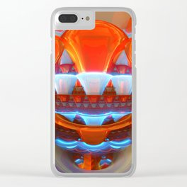 Raving Trumpets Clear iPhone Case