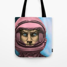 SPACE DAVID Tote Bag
