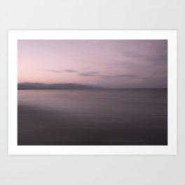 Sundown at Sea Art Print