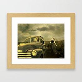 Trick or Treat Framed Art Print