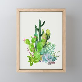 Cactus Garden II Framed Mini Art Print