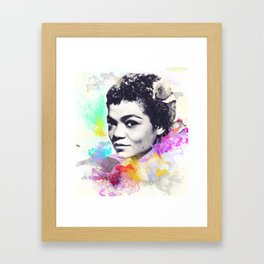 Eartha Kitt I Framed Art Print