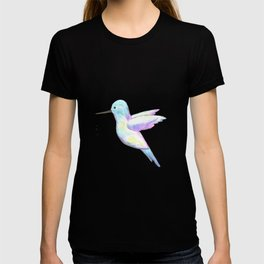 A cute Hummingbird with iridescent feathers T-shirt