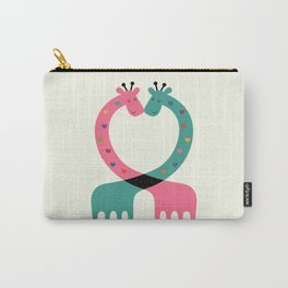 Love With Heart Carry-All Pouch
