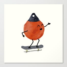 Skater Buoy Canvas Print