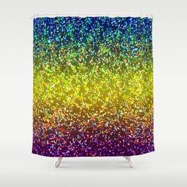 Glitter Graphic Background G107 Shower Curtain