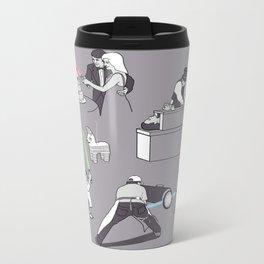 Everyday Lightsabers Metal Travel Mug