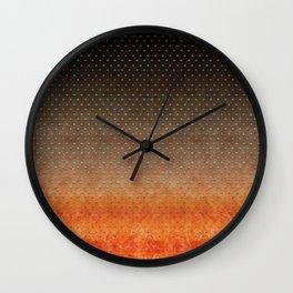 """Sabana Night Degraded Polka Dots"" Wall Clock"