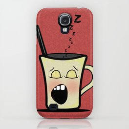 Sleepy Time Coffee  iPhone Case