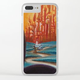 """""""RoButts"""" by Adam France Clear iPhone Case"""