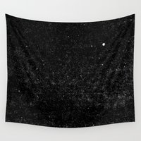 starry night Wall Tapestries featuring Starry Night by The Wellington Boot