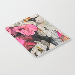 Pink wood stumps Notebook