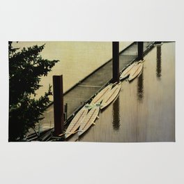 Rowing on the River Rug