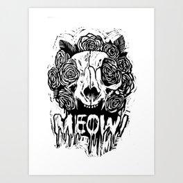 MEOW! Art Print