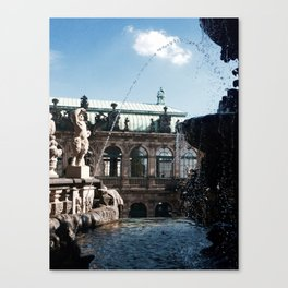 Dresdner Zwinger lll Canvas Print