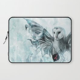 """VOLCANO+THE SEA, Owl I"" Laptop Sleeve"