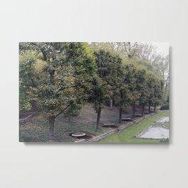 Longwood Gardens Autumn Series 20 Metal Print