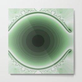 green and magic Metal Print