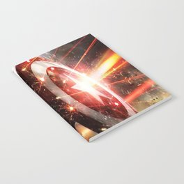 Man Of Captain In America Notebook