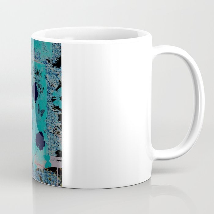 butterflies_I turquoise Coffee Mug