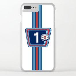 Martini Classic Racing Clear iPhone Case