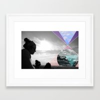 sasquatch Framed Art Prints featuring Sasquatch by Claire Lester