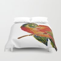 birdy Duvet Covers featuring Birdy by LaurenMarie94
