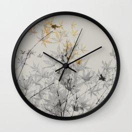 Maple #society6 #decor #buyart Wall Clock