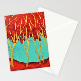 Twilight Woods #335 (ARTIST TRADING CARDS) by Mike Kraus- valentine's day gifts presents girlfriend Stationery Cards
