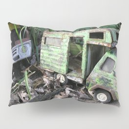 Rusty Toy Trucks Pillow Sham