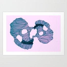digiskull Art Print