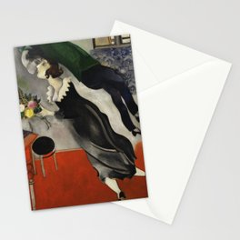 Marc Chagall, The Birthday 1915 Artwork, Posters Tshirts Prints Bags Men Women Kids Stationery Cards