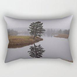 Inside Outside 2 Rectangular Pillow