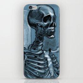 Dramatic Skeleton iPhone Skin