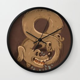 Chase Your Tail Forever Wall Clock
