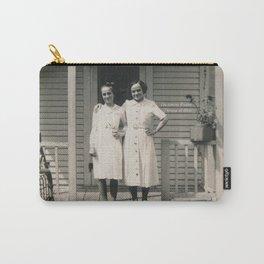 Les soeurs Bisson, Thérèse et Alice - The sisters Bisson, Therese et Alice Carry-All Pouch
