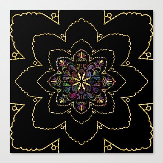 Mandala of Wishes Canvas Print