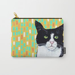 Portrait of Jasper the Cat Carry-All Pouch