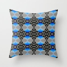Glitch #2 Throw Pillow